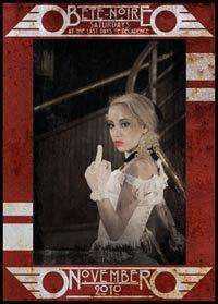 Katy Carr plays Bête-Noire 20/11/2010