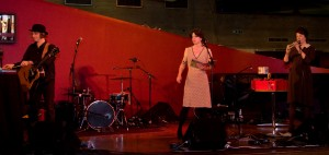 Katy Carr performs with London Dreamtime at Southbank Literature festival