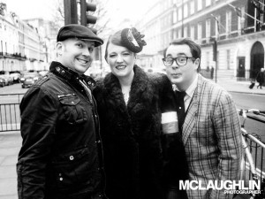 Photographer Jay, Katy Carr and Stylist Tommy Lloyd-Baker