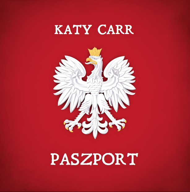 Katy Carr's Album Paszport is released in Poland 17th Sept 2012 to mark the commemoration of the Soviet invasion of Poland in 1939