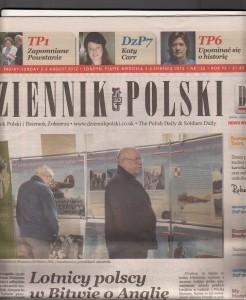 Dziennik Polski Sept 2012 Article i