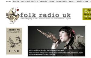 Paszport album of the month on Folk Radio uk