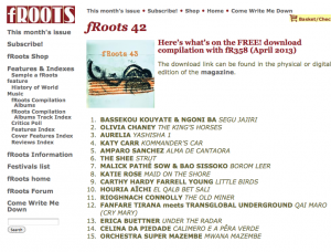 fRoots 358 Free compilation album #43