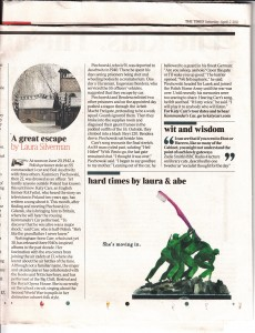 The Times Sat April 2nd 2011